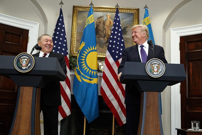 Мывысоко ценим политическую поддержку США исчитаем себя ихдругом— Назарбаев