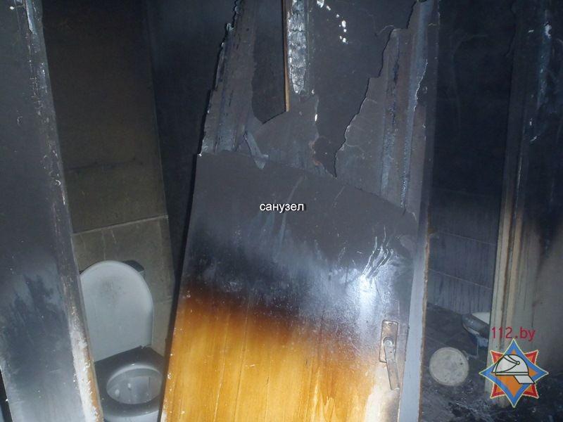 МЧС: ВПинске напожаре вмногоэтажке спасли хозяйку квартиры