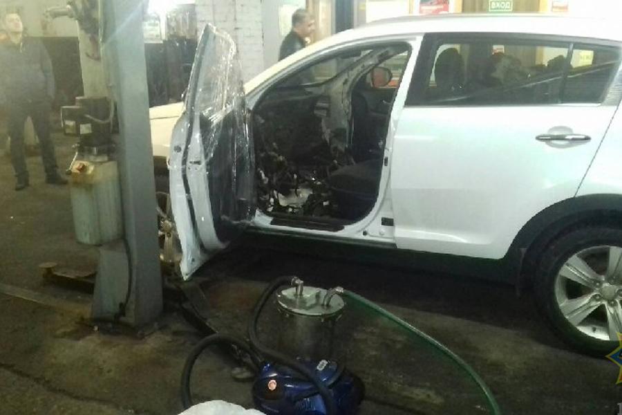 ВМинске вовремя ремонта автомобиля обнаружили ртуть