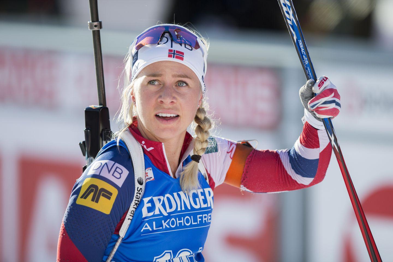 Дарья Домрачева заняла четвертое место в спринте на этапе Кубка мира в Антхольце