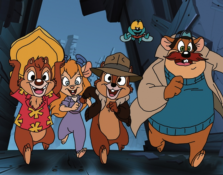 30 лет мультсериалу «Чип и Дейл спешат на помощь»
