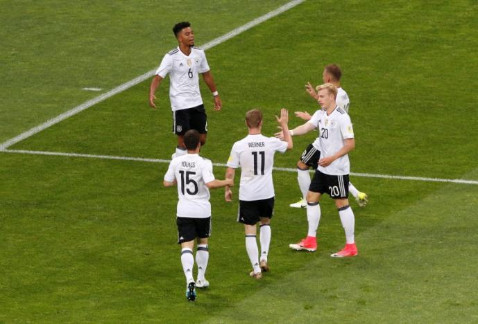 Сборная Германии сыграет вСочи вполуфинале сМексикой 29июня