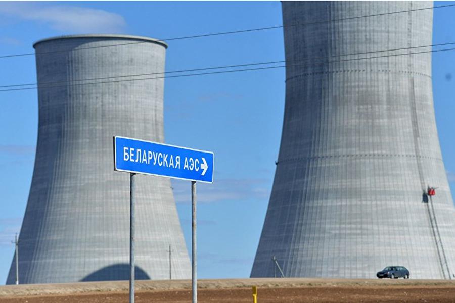 Как настроительстве БелАЭС устанавливали корпус 2-го реактора