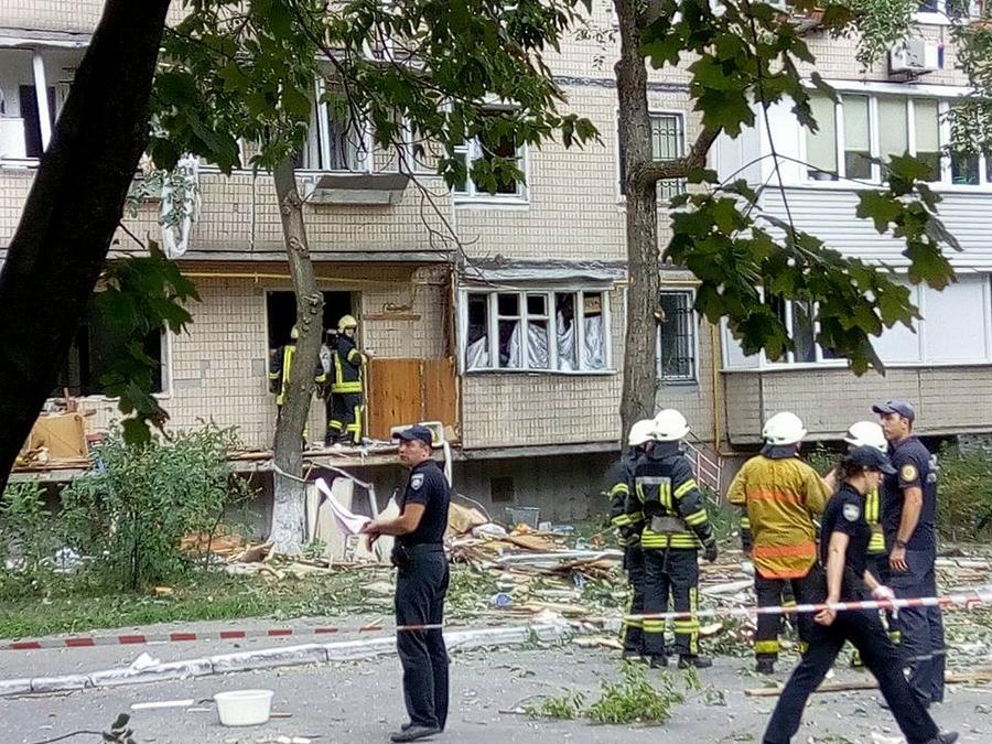 ВГолосеево опять произошел взрыв вжилом доме