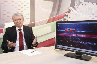 A. Radkov during the online broadcasting of SB Internet Television