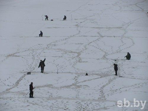 ВЛоевском районе вполынье рыболовы обнаружили тело гомельчанина