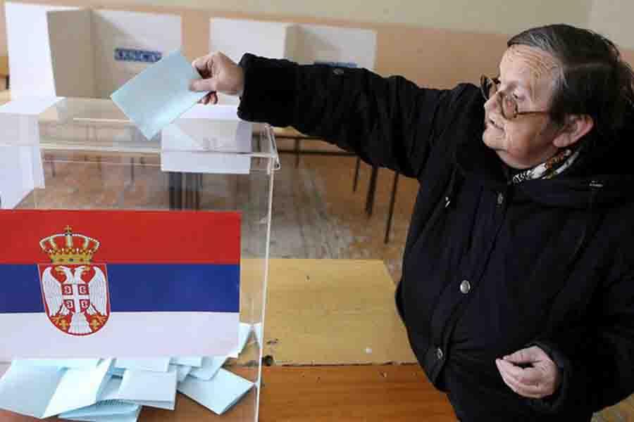 ВСербии стартовали выборы президента