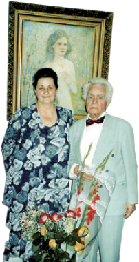Maria Veiner and Ivan Dmukhailo in previous years