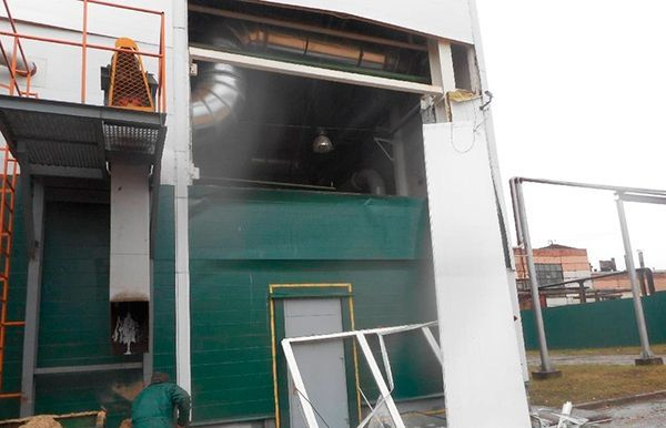 Взрыв прогремел набобруйском мебельном предприятии «ФанДОК»