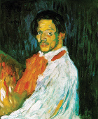 Picasso's self-portrait