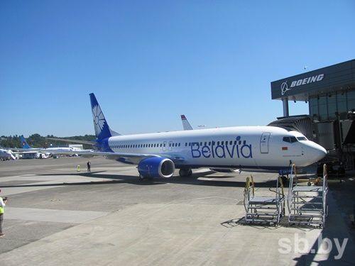 Новый Boeing «Белавиа» свасильком прилетел вМинск