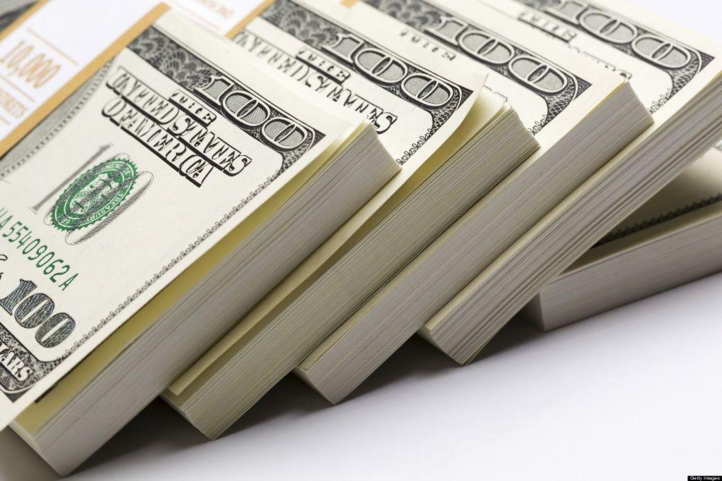 Открытие торгов: доллар резко подешевел на 360 рублей, евро — на 88
