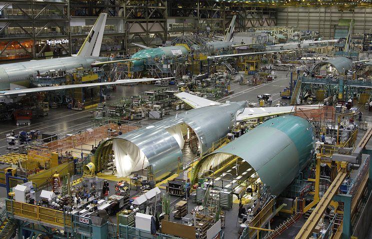 Boeing сократит производство авиалайнеров 777 до пяти в месяц