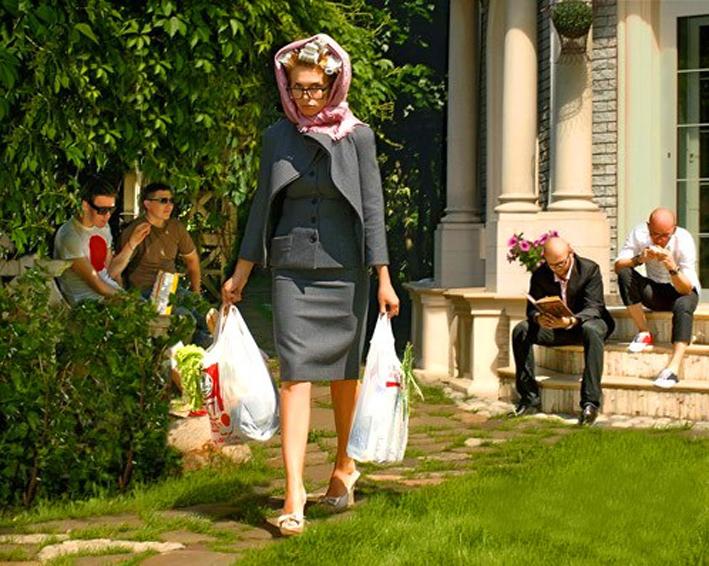Женщина с сумкой смешные картинки, новый год идея
