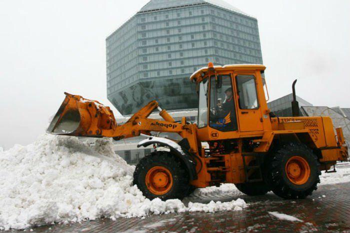 ВМинске возвели снегоплавильную станцию за1,5 млн долларов