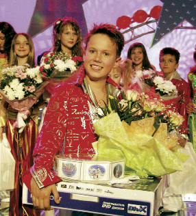 Yegor Volchek at the Junior Eurovision-2004