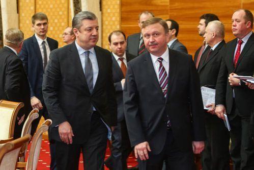 Премьер Грузии направился в Минск на встречу с управлением Беларуссии