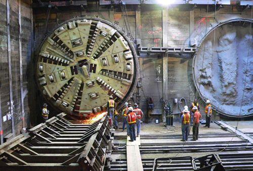 Тоннелепроходческий комплекс для возведения 3-й линии минского метро зарабо ...