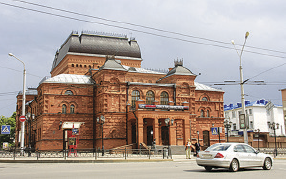 Nicholas II was a frequent visitor to the Mogilev Drama Theatre