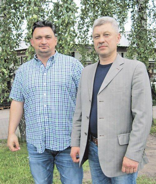 Милен МАНОВСКИ, директор, и Павел ЮЗЕФОВИЧ, заместитель директора ООО «Компания БУЛПРОМ»
