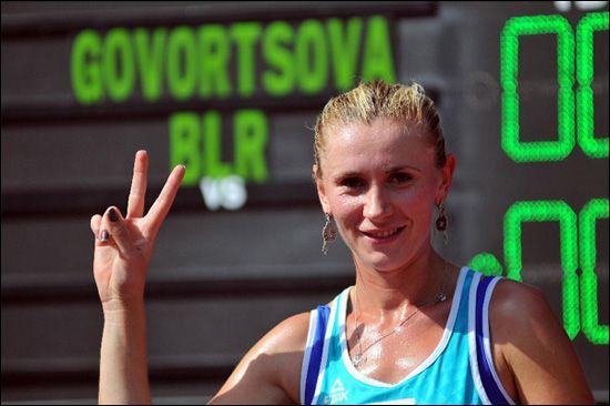 Ольга Говорцова вышла втретий круг теннисного турнира в«Поднебесной»