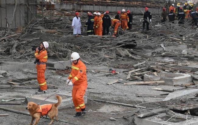 Выросло число жертв при обрушении станции повыробатыванию электричества в Китайская республика