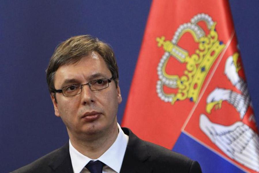 Вучич стал единым кандидатом впрезиденты Сербии отСербской прогрессивной партии