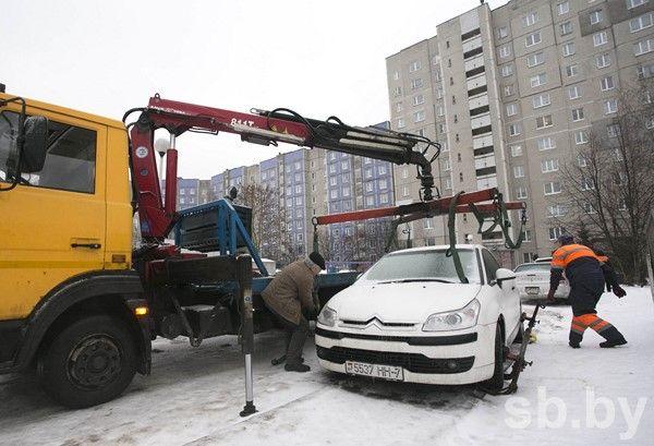 ВМинске увеличились тарифы наэвакуацию иштрафстоянку
