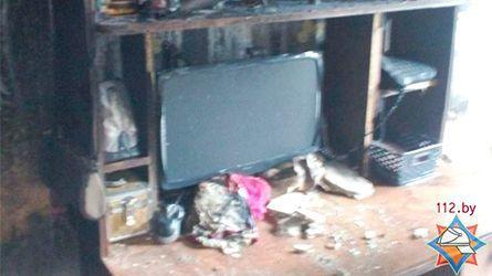 Пожар вСморгони: изобщежития довелось эвакуировать 15 человек