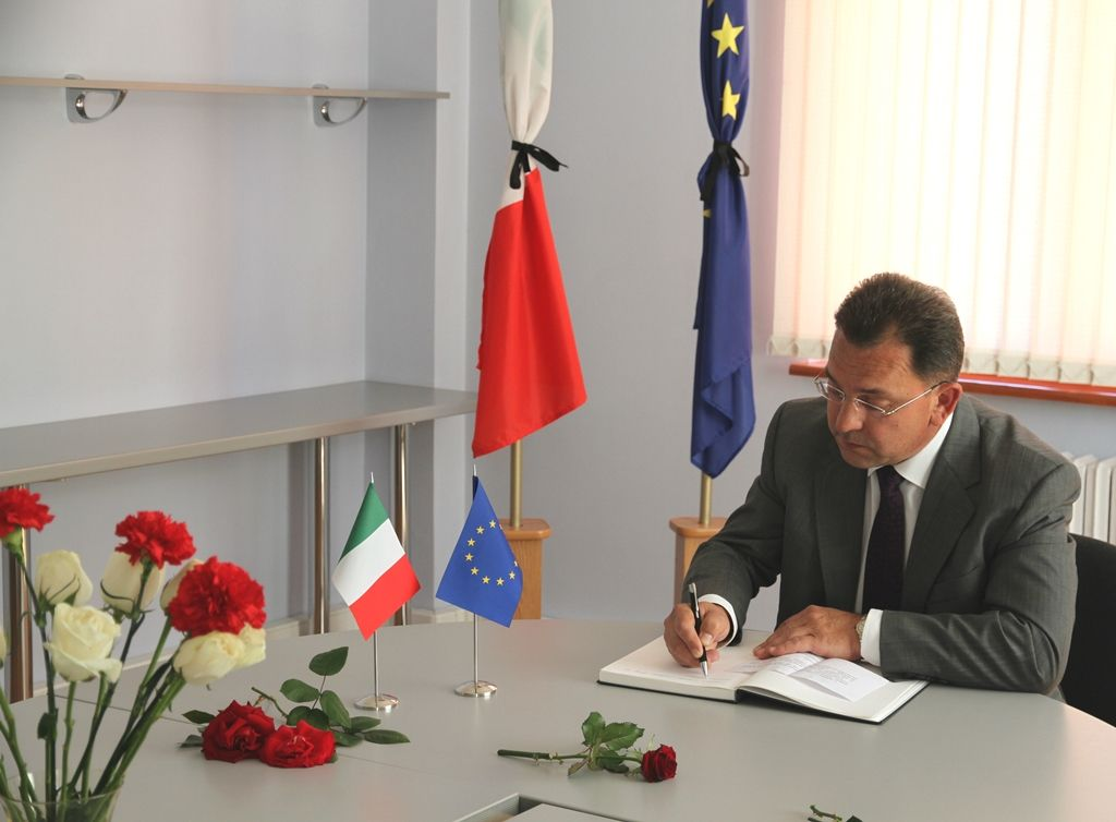 Счета посольства Италии для помощи пострадавшим при землетрясении