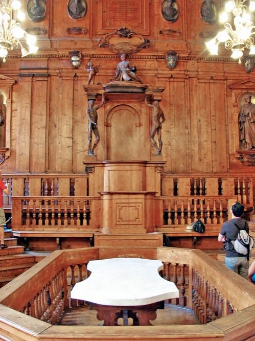 Анатомический театр. XVIII век