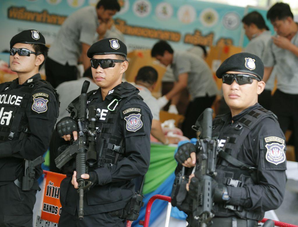 Двойной взрыв в Таиланде
