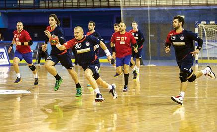 During the game between Minsk SKA and Polish Gornik
