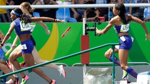 Беспрецедентное решение: дисквалифицированной сборной США разрешили заново пробежать эстафету