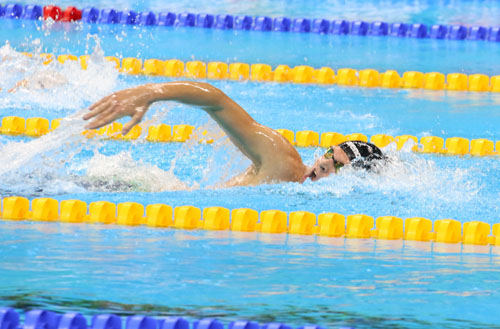 Пловец Игорь Бокий завоевал 4-ое «золото»