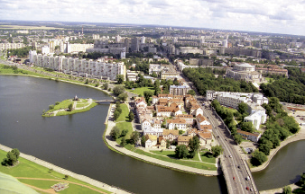 Minsk foot view