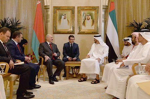 Лукашенко пригласил дубайского шейха чаще бывать в Республики Беларусь