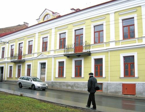 The house  of Ludwik Zamenhof in Grodno