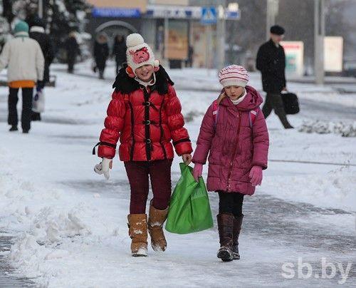 Снег, дождь иветер ожидаются вБеларуси нанеделе