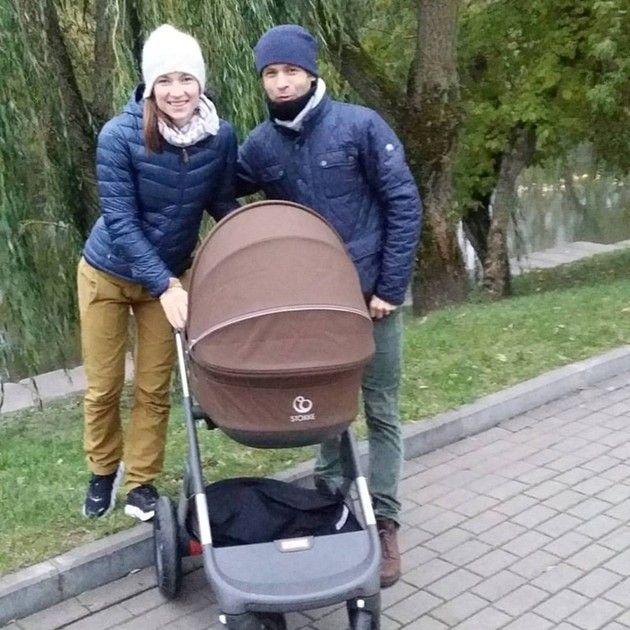 Дочь Домрачевой иБьорндалена получила фамилию отца