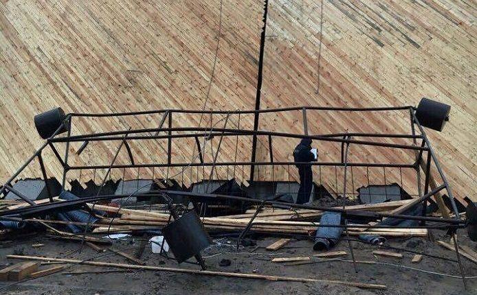 ЧПна«Беларуськалий». Упала строительная люлька: один рабочий умер, трое в клинике