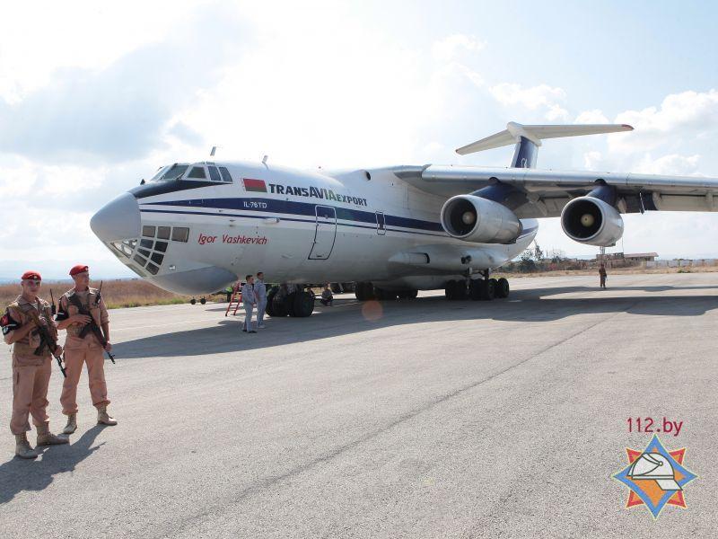 Республика Белоруссия прислала 45 тонн гуманитарной помощи жителям Сирии