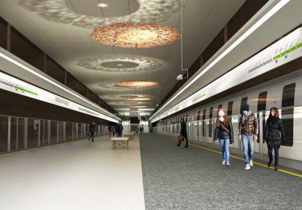 Строительная готовность станции метро «Ковальская Слобода»— 52%, «Вокзальная»— 31%