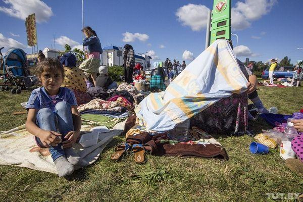 Сотни чеченцев пробуют въехать вПольшу через границу с республикой Беларусь