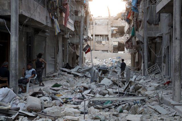 Сирийские повстанцы вошли вДабик изачищают город отИГ