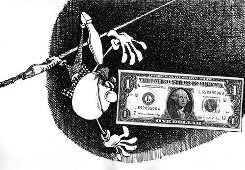 Итоговый курс от Нацбанка: доллар сбросил 469 рублей, евро упал на 970