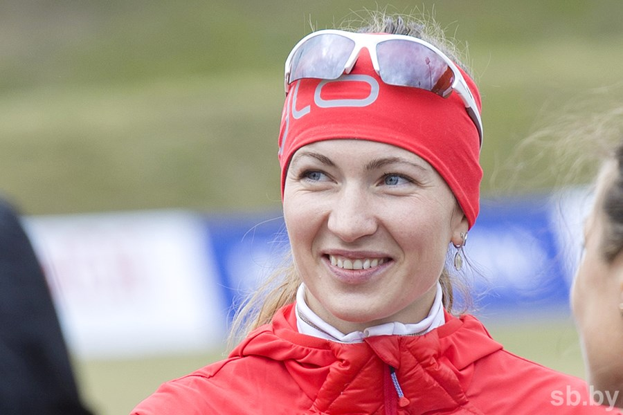 Белорусские биатлонистки стали восьми наэстафетной гонке