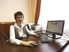 School director Galina Chernik