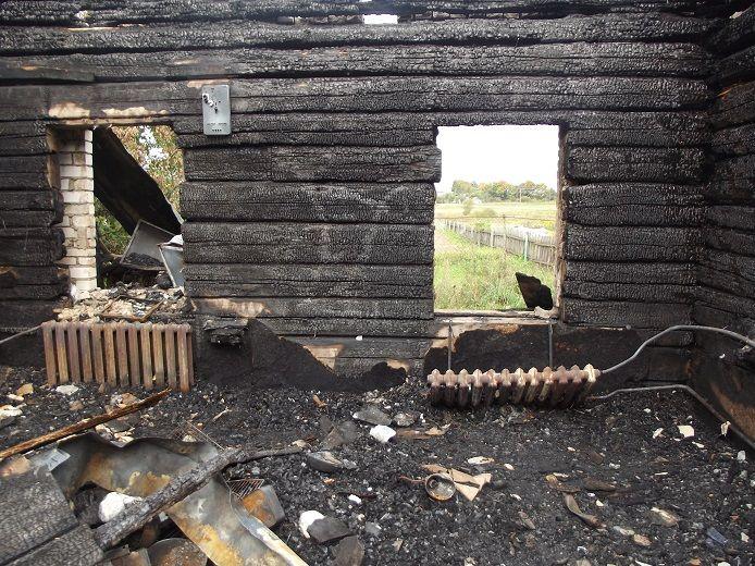 Уроженец Борисова убил свою сожительницу исжег еедом
