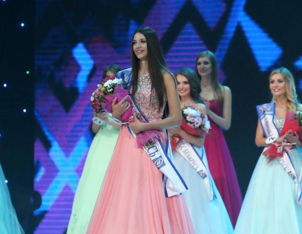Превосходный финал «Мисс Беларусь-2016»— вминском замке спорта